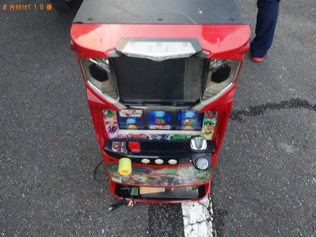 【奈良市青野町】パチスロ機の出張不用品回収・処分ご依頼