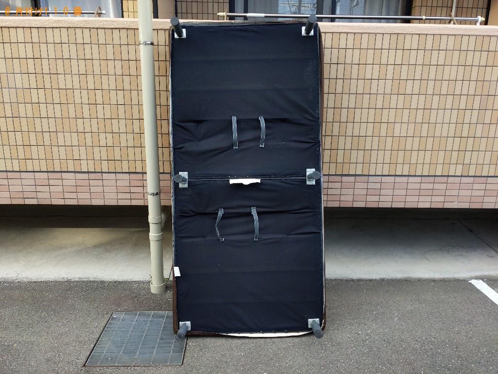 【大東市】シングルベッド枠のみの出張不用品回収・処分ご依頼