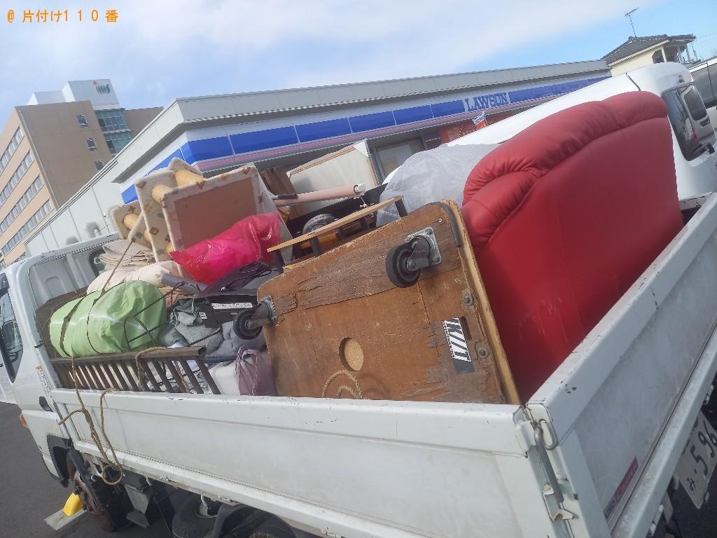 【富士見市】トラックパックでの出張不用品回収・処分ご依頼