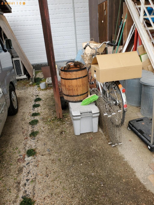 【高梁市落合町】トラックパックでの出張不用品回収・処分ご依頼