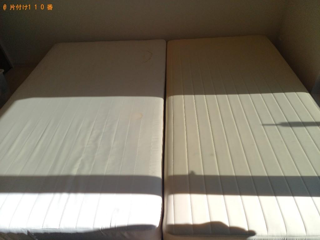 【さいたま市緑区】ベッドの出張不用品回収・処分ご依頼 お客様の声