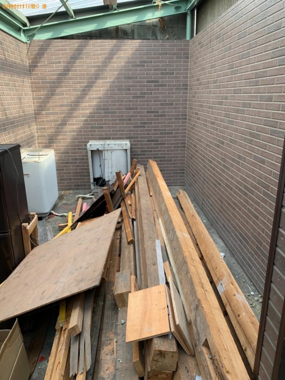 【大野城市】トラックパックでの出張不用品回収・処分ご依頼