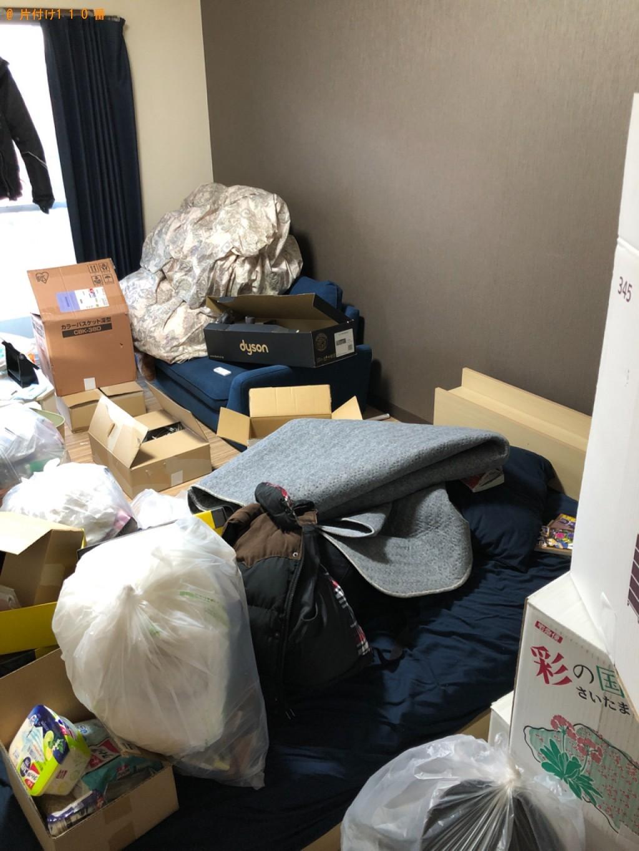 【福岡市早良区】トラックパックでの出張不用品回収・処分ご依頼