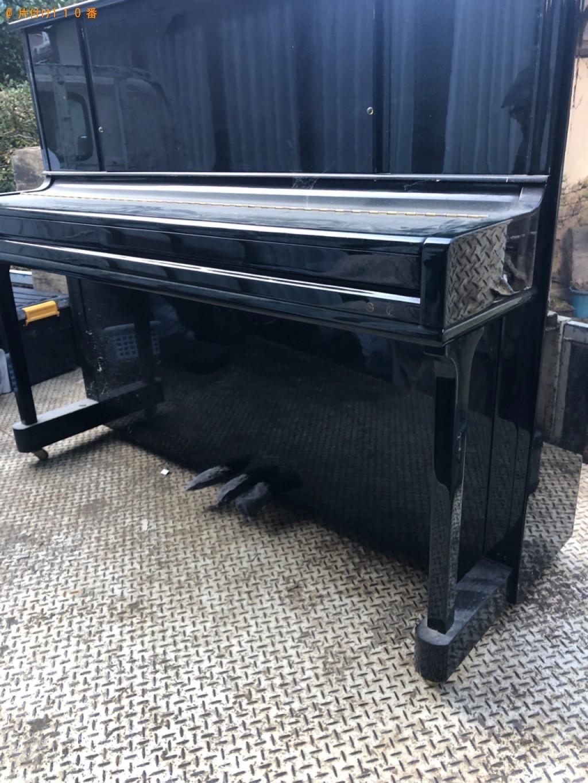 【八頭郡八頭町】ピアノの出張不用品回収・処分ご依頼 お客様の声