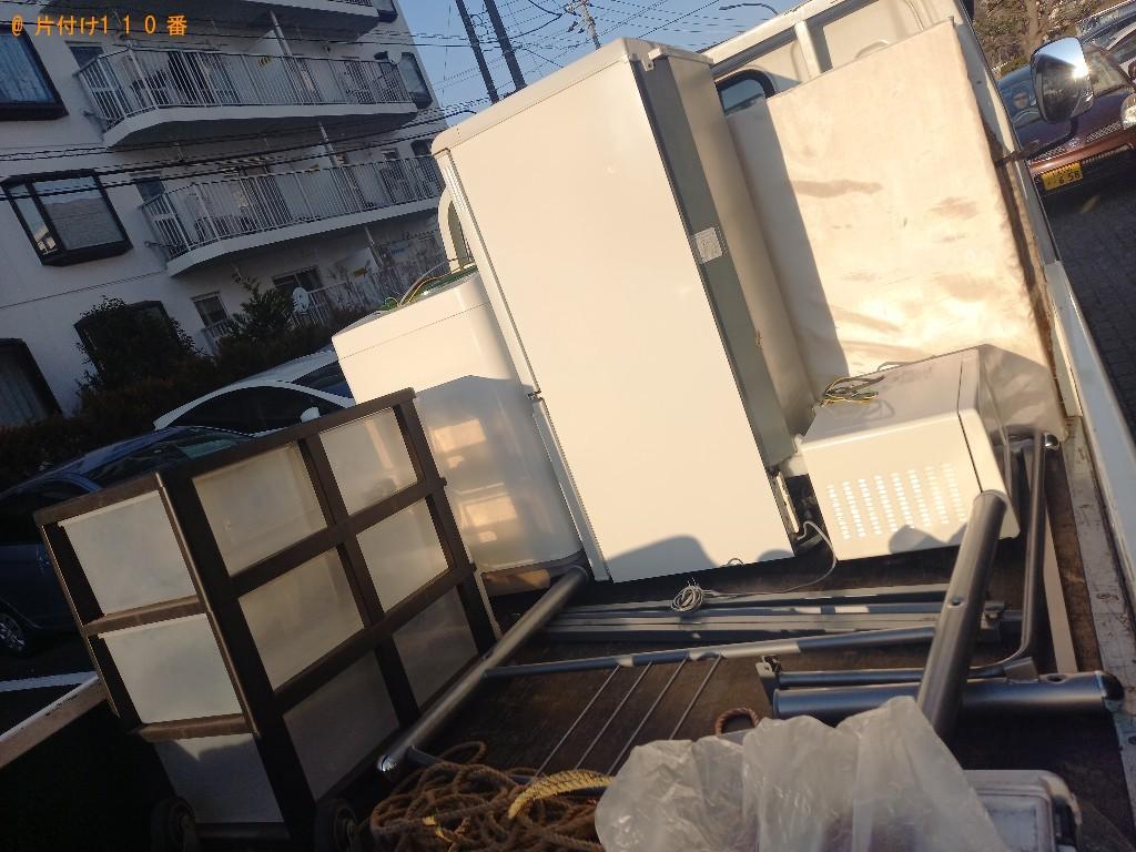 【千葉市花見川区】軽トラック1杯以内の出張不用品回収・処分ご依頼