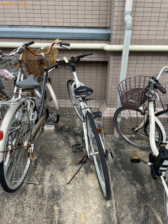 【京都市左京区】自転車の出張不用品回収・処分ご依頼 お客様の声