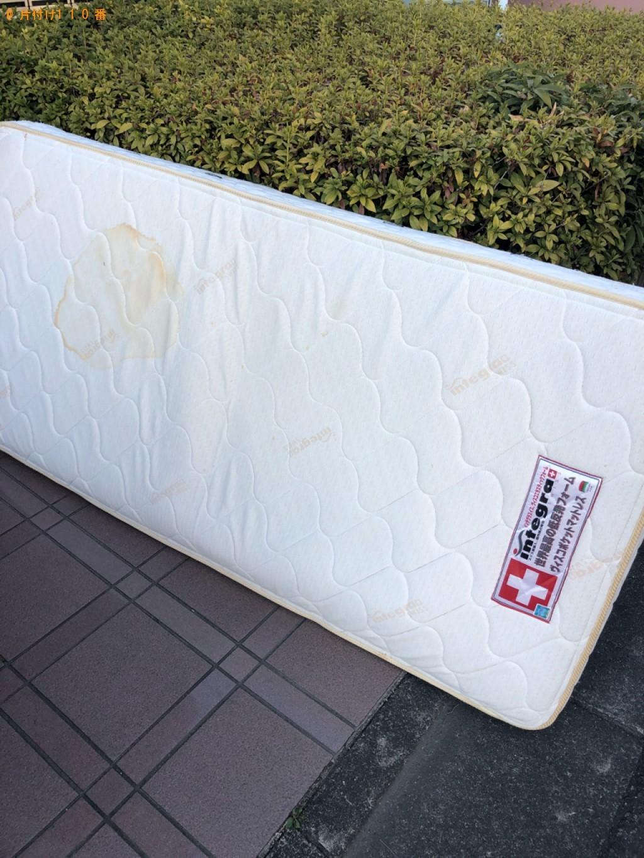 【川口市】シングルベッドマットレスの出張不用品回収・処分ご依頼