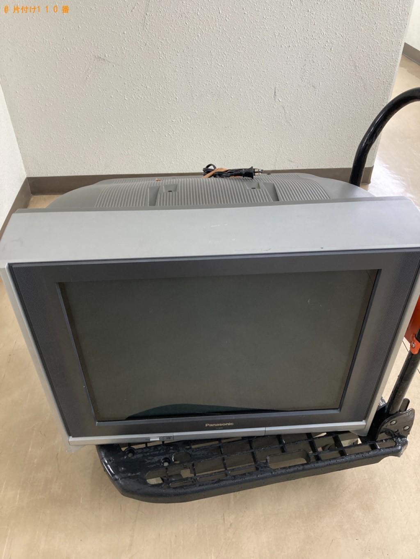 【札幌市西区】テレビの出張不用品回収・処分ご依頼 お客様の声