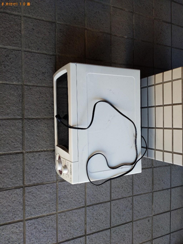 【奈良市南紀寺町】電子レンジの出張不用品回収・処分ご依頼