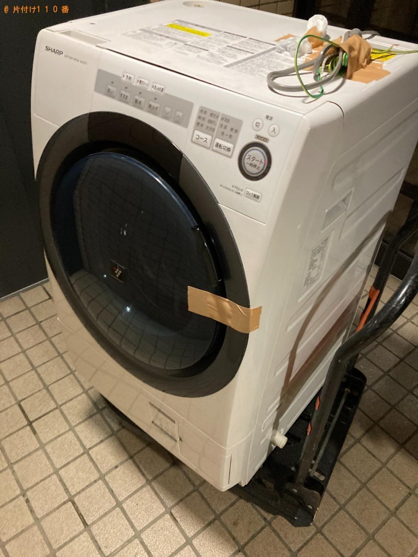 【札幌市中央区】ドラム式洗濯機の出張不用品回収・処分ご依頼