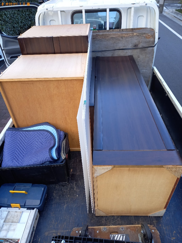 【台東区】軽トラック1杯以内の出張不用品回収・処分ご依頼