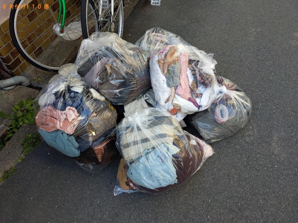 【大阪市都島区】衣類などの出張不用品回収・処分ご依頼 お客様の声