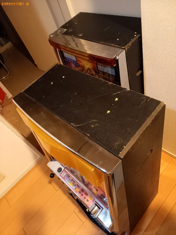 【川崎市高津区】パチスロ機などの出張不用品回収・処分ご依頼