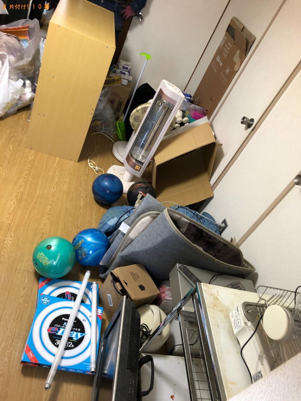 【京都市南区】軽トラック1杯以内の出張不用品回収・処分ご依頼