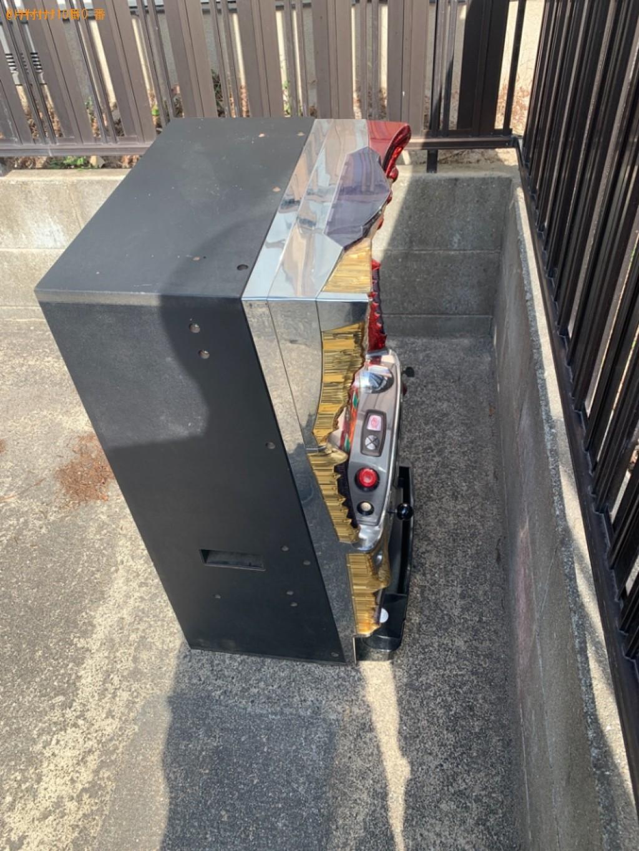 【大野城市】パチスロ機の出張不用品回収・処分ご依頼 お客様の声