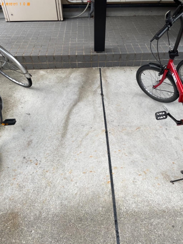 【大津市】自転車の出張不用品回収・処分ご依頼 お客様の声