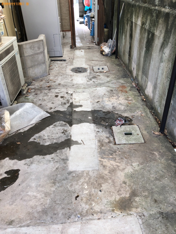 【下関市一の宮町】軽トラパックでの出張不用品回収・処分ご依頼