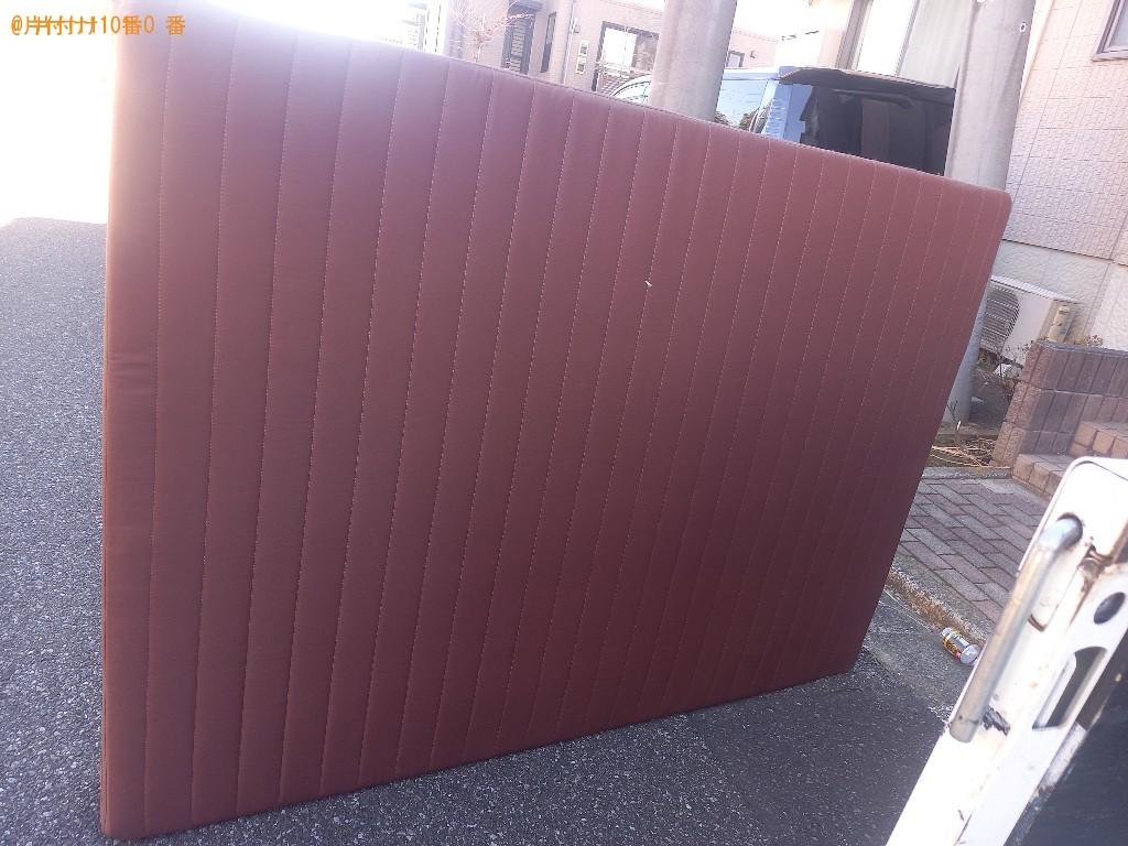【千葉市緑区】ダブルベッドの出張不用品回収・処分ご依頼