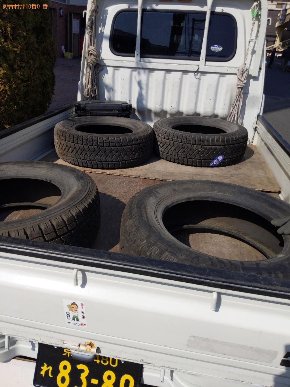 【堺市堺区】自動車タイヤの出張不用品回収・処分ご依頼 お客様の声
