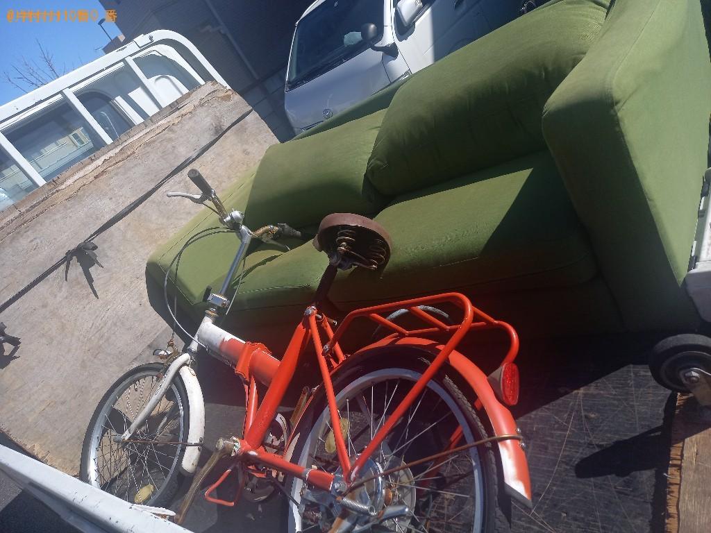 【練馬区】ソファー・自転車の出張不用品回収・処分ご依頼