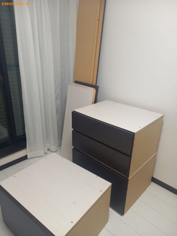【川崎市中原区】シングルベッドの出張不用品回収・処分ご依頼