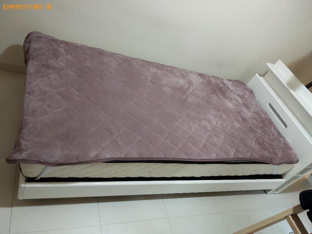 【高槻市桜ヶ丘北町】ベッドなどの出張不用品回収・処分ご依頼