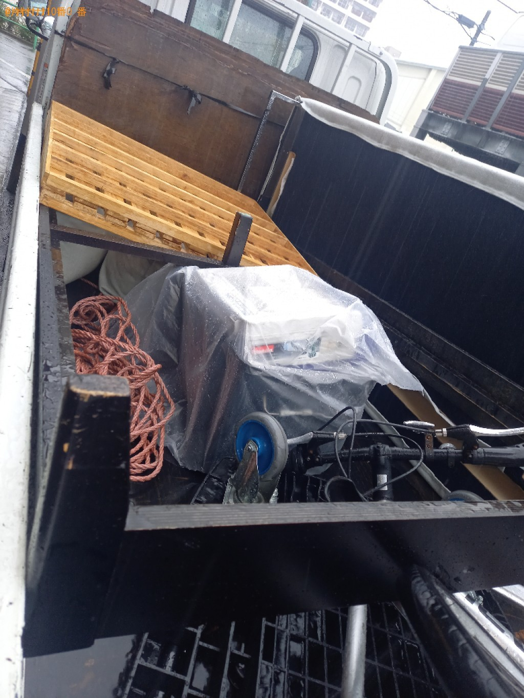 【練馬区】シングルベッド枠のみの出張不用品回収・処分ご依頼