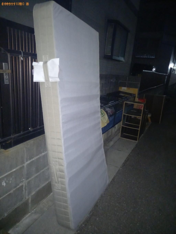 【船橋市】シングルベッドマットレスの出張不用品回収・処分ご依頼