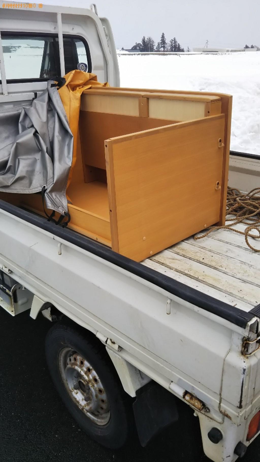 【東置賜郡川西町】学習机の出張不用品回収・処分ご依頼 お客様の声