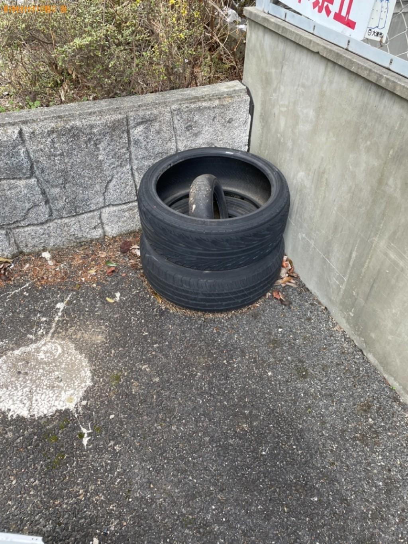 【大津市】自動車タイヤの出張不用品回収・処分ご依頼 お客様の声