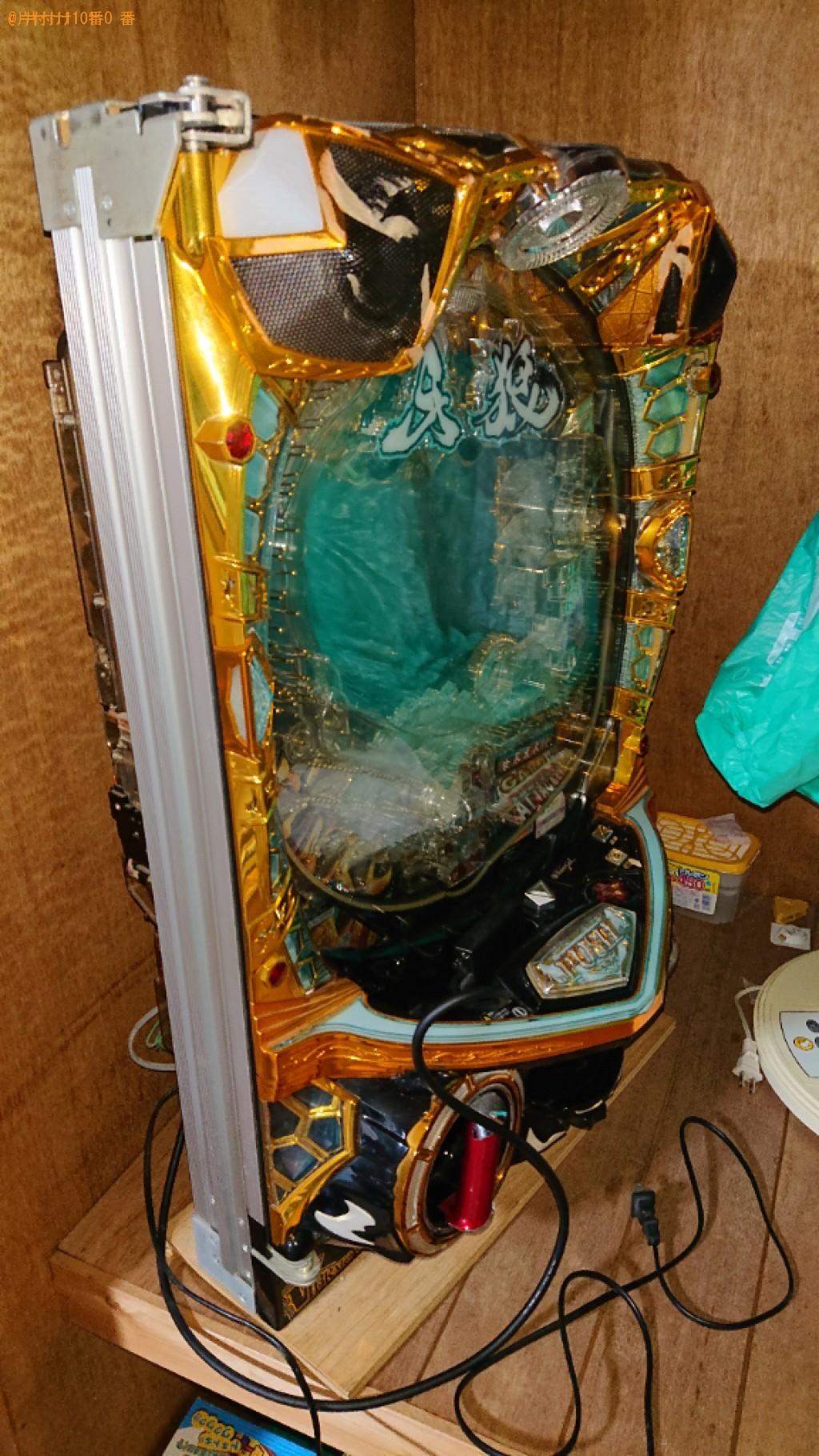 【舞鶴市】パチスロ機・家具・家電の出張不用品回収・処分ご依頼