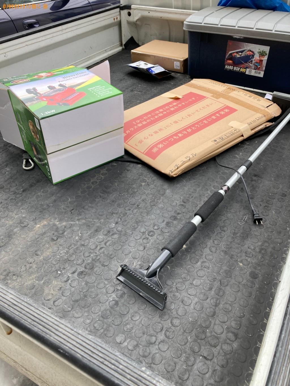 【札幌市白石区】トラックパックでの出張不用品回収・処分ご依頼