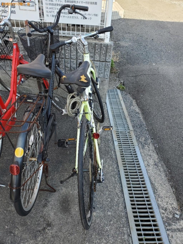 【岡山市北区】自転車の出張不用品回収・処分ご依頼 お客様の声