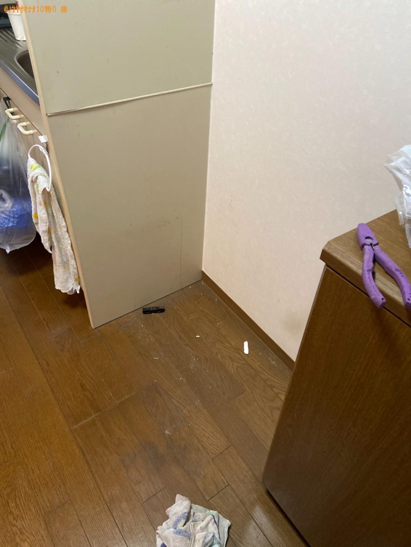 【北九州市小倉北区】冷蔵庫の出張不用品回収・処分ご依頼