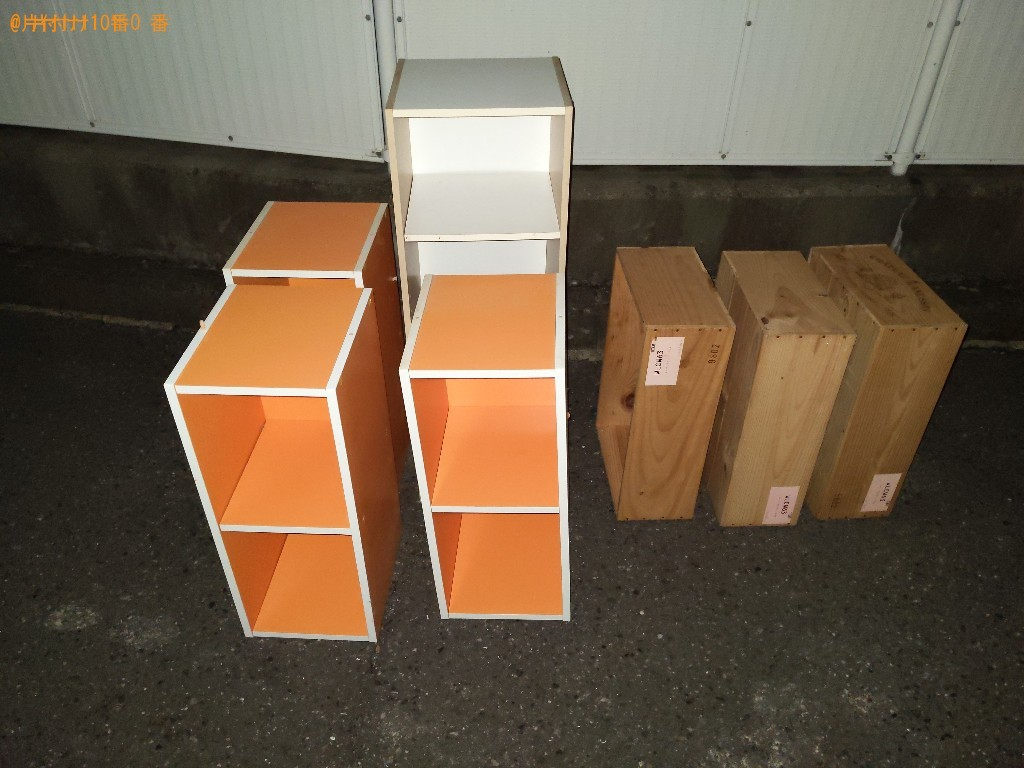 【奈良市西大寺北町】本棚などの出張不用品回収・処分ご依頼