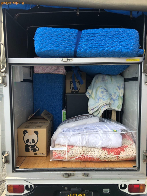 【下松市中央町】荷物移動作業と家具の出張不用品回収・処分ご依頼