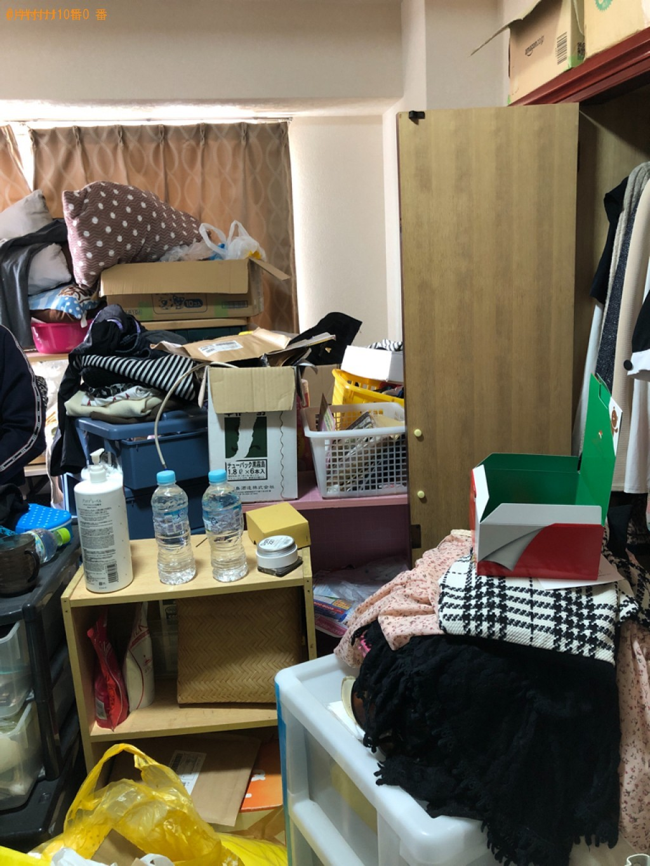 【福岡市博多区】細々としたものなどの出張不用品回収・処分ご依頼