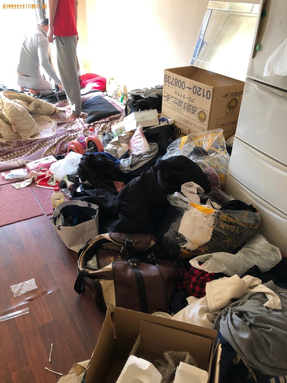【福岡市中央区】細々としたものなどの出張不用品回収・処分ご依頼