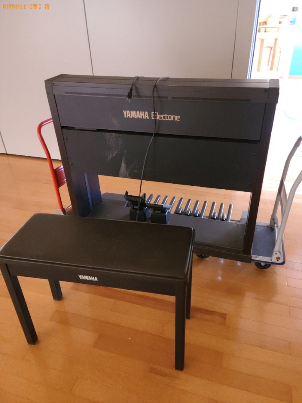 【宇部市】電子ピアノの出張不用品回収・処分ご依頼 お客様の声