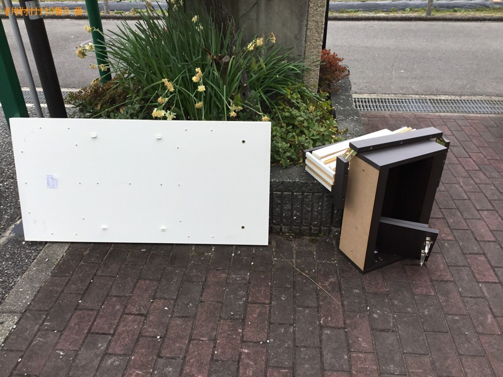 【伊丹市】ローテーブルの出張不用品回収・処分ご依頼 お客様の声