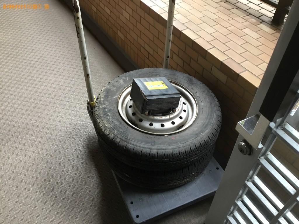【神戸市灘区】自動車タイヤなどの出張不用品回収・処分ご依頼