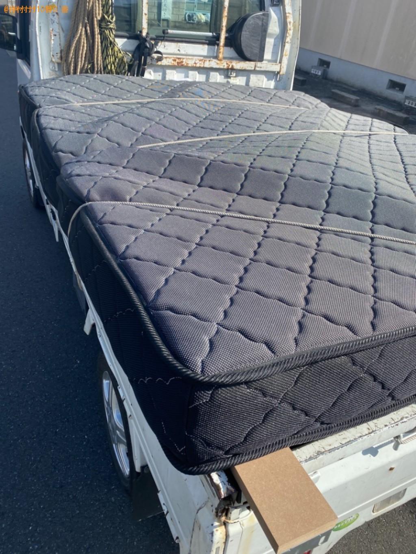 【福知山市】クイーンベッドの出張不用品回収・処分ご依頼