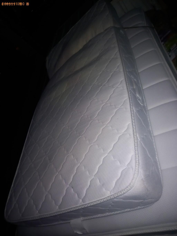 【船橋市印内町】ベッドマットレスの出張不用品回収・処分ご依頼