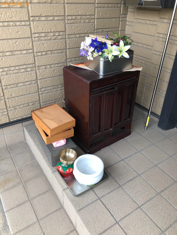 【北九州市戸畑区】仏壇の出張不用品回収・処分ご依頼 お客様の声