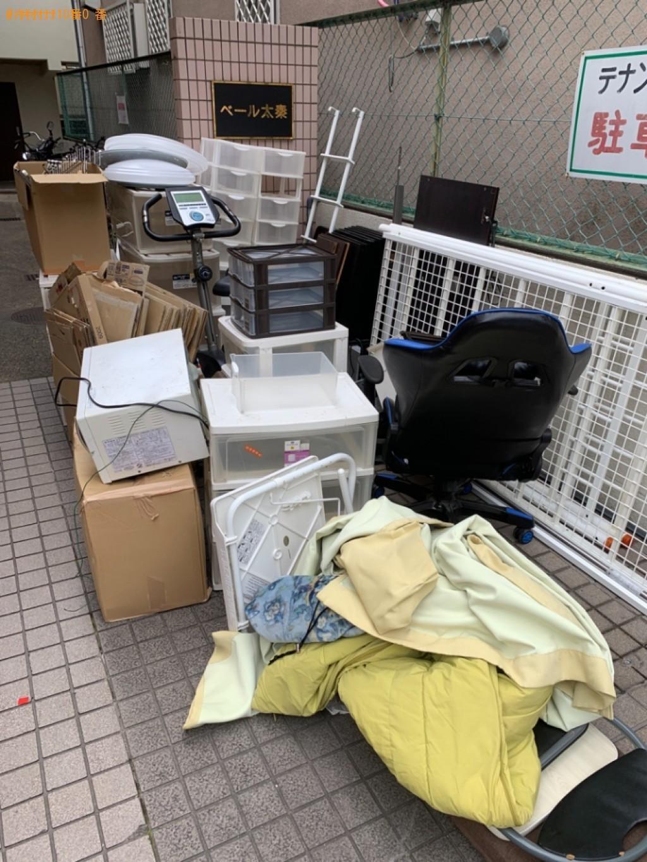 【京都市右京区】2tトラック一杯以内の出張不用品回収・処分ご依頼