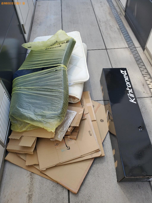 【岡山市北区】ウレタンマットレスなどの出張不用品回収・処分ご依頼