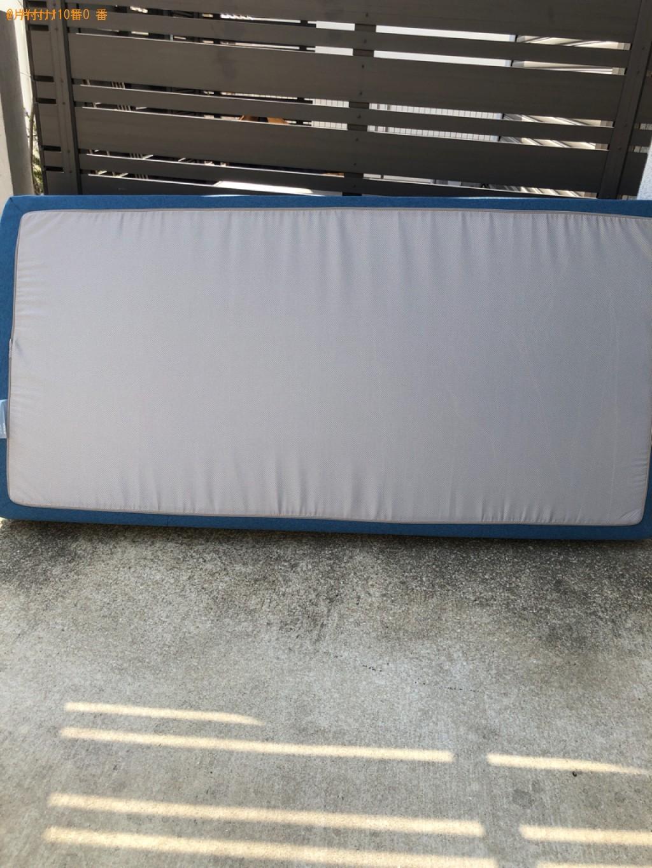 【福岡市城南区】ベッドマットレスの出張不用品回収・処分ご依頼