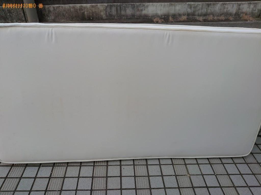 【松山市】シングルベッドマットレスの出張不用品回収・処分ご依頼