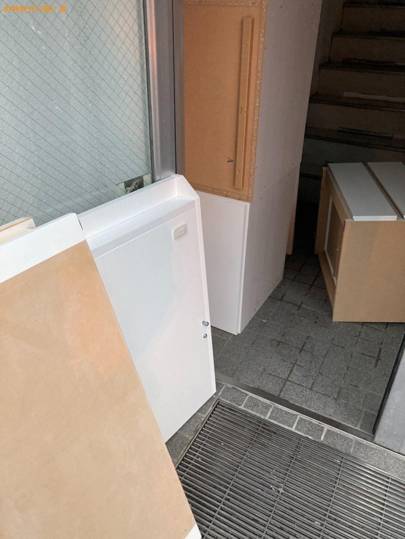 【札幌市中央区】シングルベッドの出張不用品回収・処分ご依頼