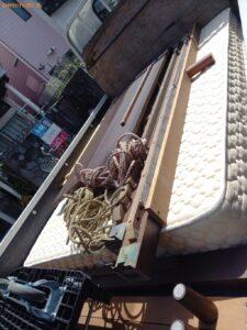 【練馬区】ダブルベッドの出張不用品回収・処分ご依頼 お客様の声